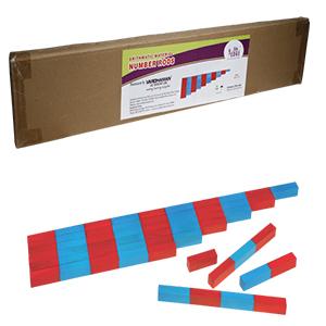 Montessori Arithmetic Material